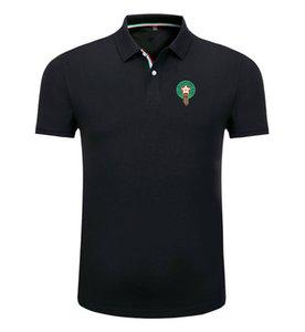 Marocco 2020 primavera e nuovo a maniche corte bavero unisex di polo uomini della camicia del calcio di polo del cotone può polo uomo fai da te personalizzati estate