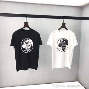 Free mailing in 2020 T-shirt, hip-hop fashion cave Street dress Kanyesi short sleeve long sleeve T-shirt, sandwich 100% cotton TOP air K4