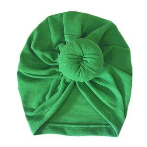 Sıcak Yürüyor Bebek Bebek Çocuk Pamuk Turban Knot Bunny Kulak Şapka Caps Kafatası kasketleri Bebek Kız Prenses Başkanı Wrap Kafa kasketleri aFJ15 Caps