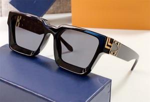 lunettes de soleil design hommes millionnaire haut cadre carré qualité d'avant-garde vente chaude en plein air lunettes de style gros avec étui 96006