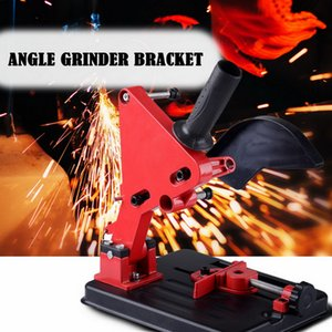 Adjustable Angle Grinder Stand Angle Grinder Bracket Holder Support For 100-125 Cutter Cast Iron Base Power Tools