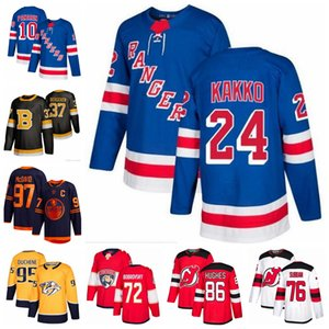 New York Rangers Jersey 10 Artemi Panarin 24 Kaapo Kakko Boston Bruins 37 Patrice Bergeron 88 David Pastrnak Hockey Jerseys Stitched
