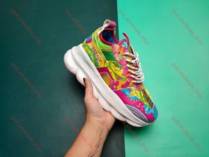 Versace treinador sapatos sapatos de desporto das mulheres dos homens homens tamanho Europeia 36-44