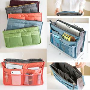 Kadınlar Seyahat Comestic Çanta Takın Çanta Organizatör Çanta Liner
