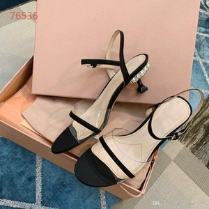 2019ss new luxury fashion designer shoes true leather peep toes flat sole sandals ladies shallow party dress shoes size 34-40