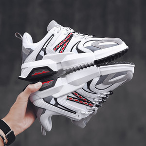Hot Fashion Mens Platform Designer Shoes Black White Multi-Colors Women Mens Leather Casual Shoes Sports Sneakers Made in China Size 39-44