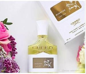 New Creed Aventus For Her Parfum pour femmes fort parfum 75 ml de bonne qualité Parfum avec boîte VIA e-packet