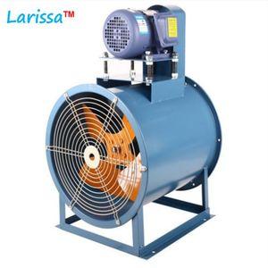 T30 / KT30 hojas de metal ajustable del ventilador axial de accionamiento por correa de baja presión del ventilador de escape bajo nivel de ruido industrial