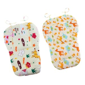 2 Pack Baby Stroller Liner Head and Body Support Pillow, Infant Seat Pad Body and Head Cushion for Toddler Pushchair, Cotton & Cartoon