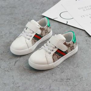 Primavera e autunno Bambini Tela Scarpe casual da ragazza Ragazzi Scarpe sportive Scarpe antiscivolo Fondo in gomma per bambini Sneakers moda per bambini