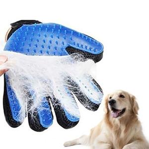 Köpek Köpek Bakımı Eldiven Silikon Kediler Fırça Tarak Deshedding Saç Eldiven Köpekler Banyo Temizleme PROSTORMER tarafından Hayvan Combs'u Malzemeleri