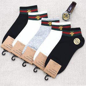 2019 Xia Chunmian men's Boat boat Socks spider men's business casual socks breathable sweat absorption
