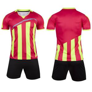 19/20 personalizado camisa em branco / crianças roupas de futebol T-shirt clube desportivo calções jérsei sportswear de futebol de futebol infantil dos homens ajustaram 004