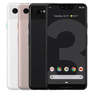 Refurbished Original Google Pixel 3 XL 6.3 inch Octa Core 4GB RAM 64GB 128GB ROM 12.2MP Quick Charge 3.0 Android Smart Cell Phone DHL 5pcs