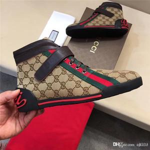 Venda quente Mais Recente Marca Das Mulheres Dos Homens Mocassins Sneakers G Branco Preto Low Cut Casual Sapatos Rasos Ao Ar Livre Unisex Zapatillas Designers Sapatos