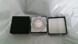 Takı Kutuları Boxs Kare Karton Kağıt Kutu İçin Bilezik Bileklik Hediye Takı Ekran (Siyah) 9 * 9 * 2cm Display