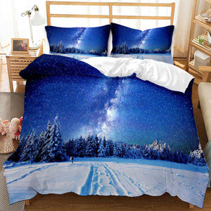 3D design starry sky bedding sets king size luxury Quilt cover pillow case queen size duvet cover designer bed comforters sets queen