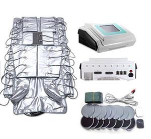 Pressoterapia 3 in 1 Macchina Professionale Drenaggio Linfatico Massaggiatore Macchina EMS Vestito per il corpo dimagrante per uso del salone