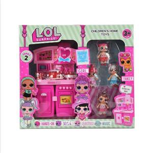 Serie de gabinete de PVC Kawaii Lovely Toys Toys Anime Figuras de Acción Realistas Muñecas Renacidas Regalo Casa de juguete casa de juguete