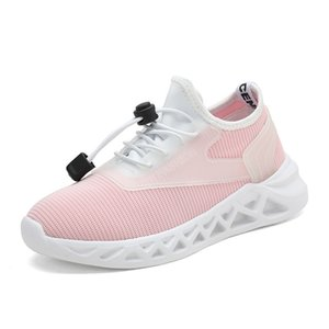 2019 New Style Kids Sneakers Boys Outdoor Sport Shoes Girls Trainers Children\'s Running Shoes Child Slip On Walking shoes
