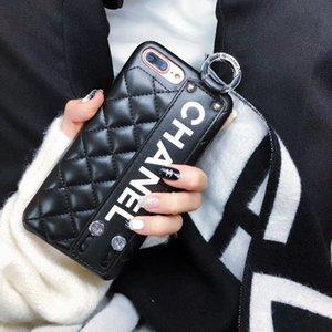 Bauletti telefono cellulare di lusso per iphone 11 Pro Max XR XS 6/7/8 più unità di elaborazione di cuoio del telefono casi della copertura del raccoglitore del telefono.