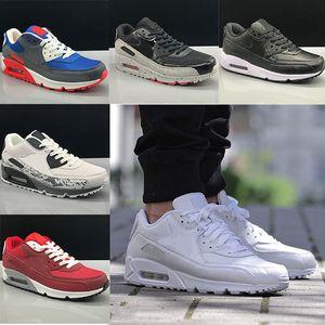 Nike air max 90 shoes airmax 90 hommes et femmes Chaussures de sport Entraîneur Coussin surface douce Chaussures respirantes Eur 36-45 marche pour les hommes