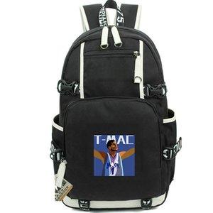 McGrady Rucksack Tracy Daypack T Mac Basketball-Fans Schultasche Canvas Packsack Laptop Daypack Sport Schultasche Out door Rucksack