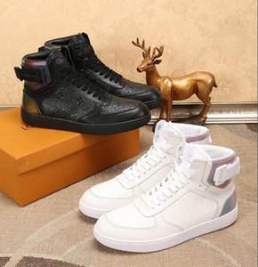 New Luxury High Top Пешеходные Sneaker Mens будущее Тренеры Fastion Треугольные Подошва Кроссовки нубука Скалолазание Теннис Дизайнерская обувь