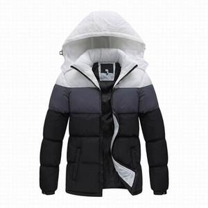 Nueva chaqueta de invierno para hombre de la marca 2019, deportes de moda al aire libre Abrigo de abrigo de invierno para hombres, ropa de abrigo para hombres chaqueta con capucha anti-viento