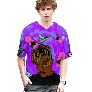 Tee Cool Short Sleeved Tees Man Women Tops Plus Size Hooded Men Clothing Summer Couple T-Shirts Fashion 3D Printed