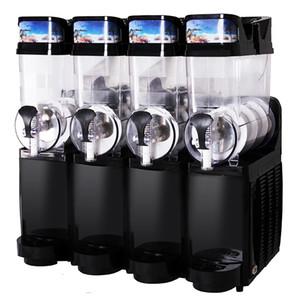 Bajo precio de nieve Comercial Máquina de fusión de un cilindro, Bebida fría envase de jugo dispensador 15Lx4 de Restaurante / buffet 110V / 200V