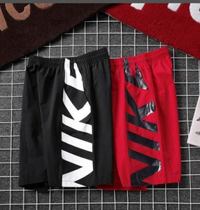 Wholesale Asian size m-zxl new shorts men's summer beach shorts high quality swimsuit men's letter surfing life men's swimming