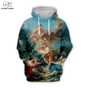 PLstar Cosmos Mercury Confiding The Infant Bacchus 3D Printed Hoodie Sweatshirt Jacket Mens Womens hip hop apparel Y200704