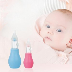 Baby Silicone Nasal Aspirator Toddler Nose Cleaner Infants Snot Sucker Infant Snot Vacuum Sucker Soft Tip Cleaner Baby Care Tool