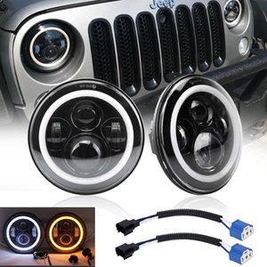 7 Inch Led Driving Light 60W H4 H13 LED Car Headlight Kit Auto for Jeep Led Head Lamp Bulbs High Low Sealed Beam