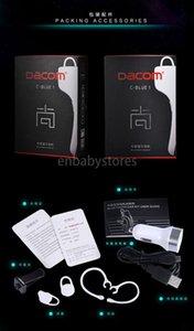 Bluetooth Dacom C-blue1 sem fios para viatura Veículo Earphones Suporte NFC Com microfone estéreo Handfree Headset Para Iphone Samsung Telemóveis