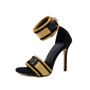 Sommer Stil Sandalen Für Frauen Schuhe Mode Gladiator Plattform Sandalen Casual Offene Zehen Knöchelriemen Schuhe LX-117
