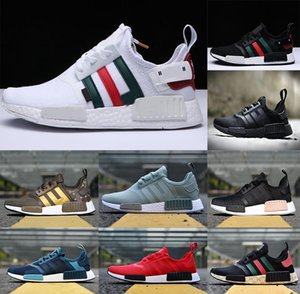 Fashion Cool NMDR1 Mens Runder Shoes Thunder Military Green Oreo atmos Tril Color Men Women master mind Japan Sports Nmds xr1 Trainers