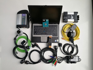 for BMW Icom Next and MB Star C4 SD Connect C4 V12.2020 Soft-ware in 1TB HDD and Used Laptop D630 4G