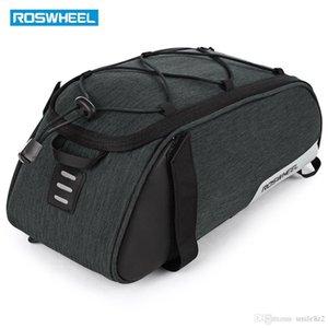 ROSWHEEL Multifunctional Bike Trunk Bag Mountain Road Bike Bicycle Cycling Rear Seat Rack Trunk Bag Carrier Shoulder Bags Free Shipping VB
