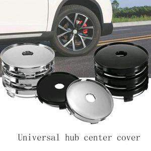 4pcs / lot Universal do centro de roda Hub Cap chapeamento Modificado Tire Center Buraco Tampa Hubcaps Etiqueta HHA51