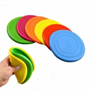 Original Toys for Dogs Flying Discs Silicone Outdoor Puppy Training Flying Discs Frisby Dog Fetch Toy for Pet Dog Training Discs