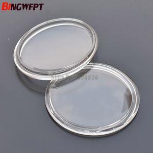 2pcs ovale 103X90mm lampes de brouillard lumières verre trempé verre anti-brouillard pour Nissan Pathfinder voyous ensoleillé Teana Urvan Versa Fuga NV400