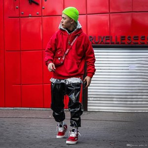 Brand New Fashion Mens Oversized Hoodies Loose Drop Shoulder Hiphop Streetwear Hooded Sweater fog essential