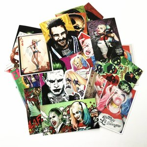 TD ZW 27 Other Toys Pcs lot American Movie Suicide Squad Harley Quinn Cool Stickers For Car Luggage Pad PS4 Skateboard Laptop Decal Sticker