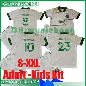 2020 2021 MLS Adult and Kids kit Portland Timbers home soccer jerseys 20 21 MLS VALERI BLANCO CHARA VALENTIN VALERI kids kit football Shirts
