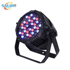 Disko Kulübü Partisi İçin Yüksek Kaliteli Açık sahne ışığın 54x3w RGB / RGBW IP65 su geçirmez Led Par ışık