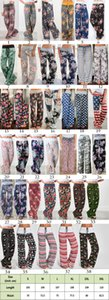38 stilleri Kadın Sıkı Geniş Bacak Palazzo Salonu Pantolon Rahat Rahat pijama pantolon Çiçek Baskı İpli Palazzo Salonu Pantolon Geniş Bacak