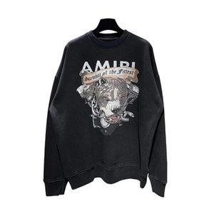 2020SS outono e inverno nova SEXYSHOW AMIR Hoodie 19FW AMIR Pitbull buldogue impressão camisola com capuz de alta qualidade de Homens
