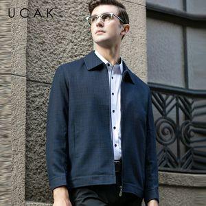 UCAK бренд Модные куртки мужчины Бесплатная доставка плед топы повседневная Chaquetas Hombre Новая весна пальто уличная куртка мужчины U8054